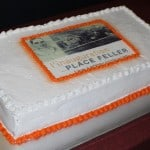 Gâteau d'inauguration de la Place Feller