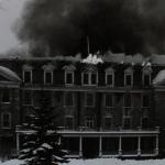 Incendie à l'Institut Feller en 1968